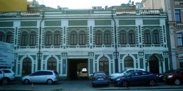 Офісна будівля вул. Набережно-Хрещатицька, 7А