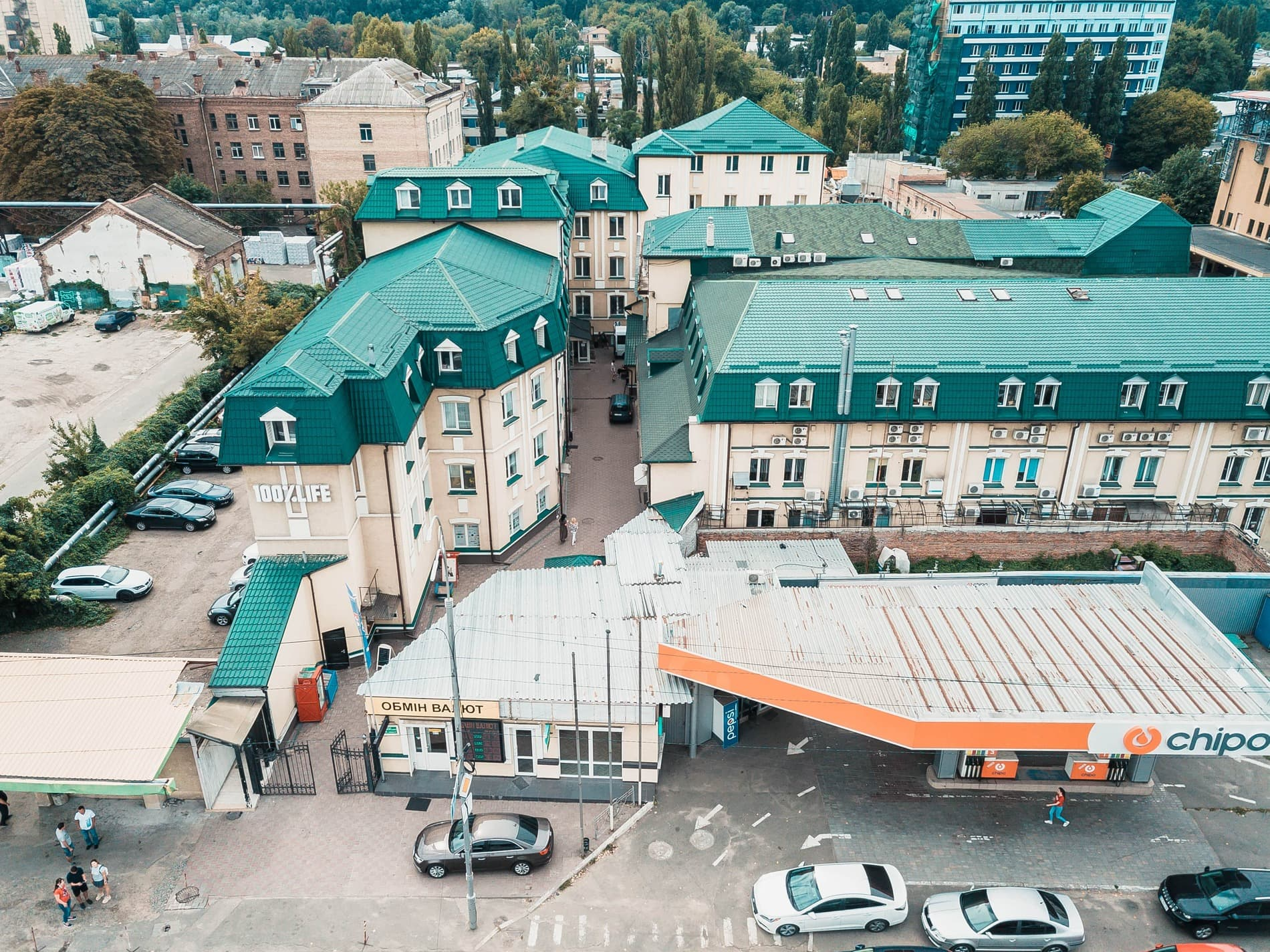 Бизнес-центр Межигорский Фото 1