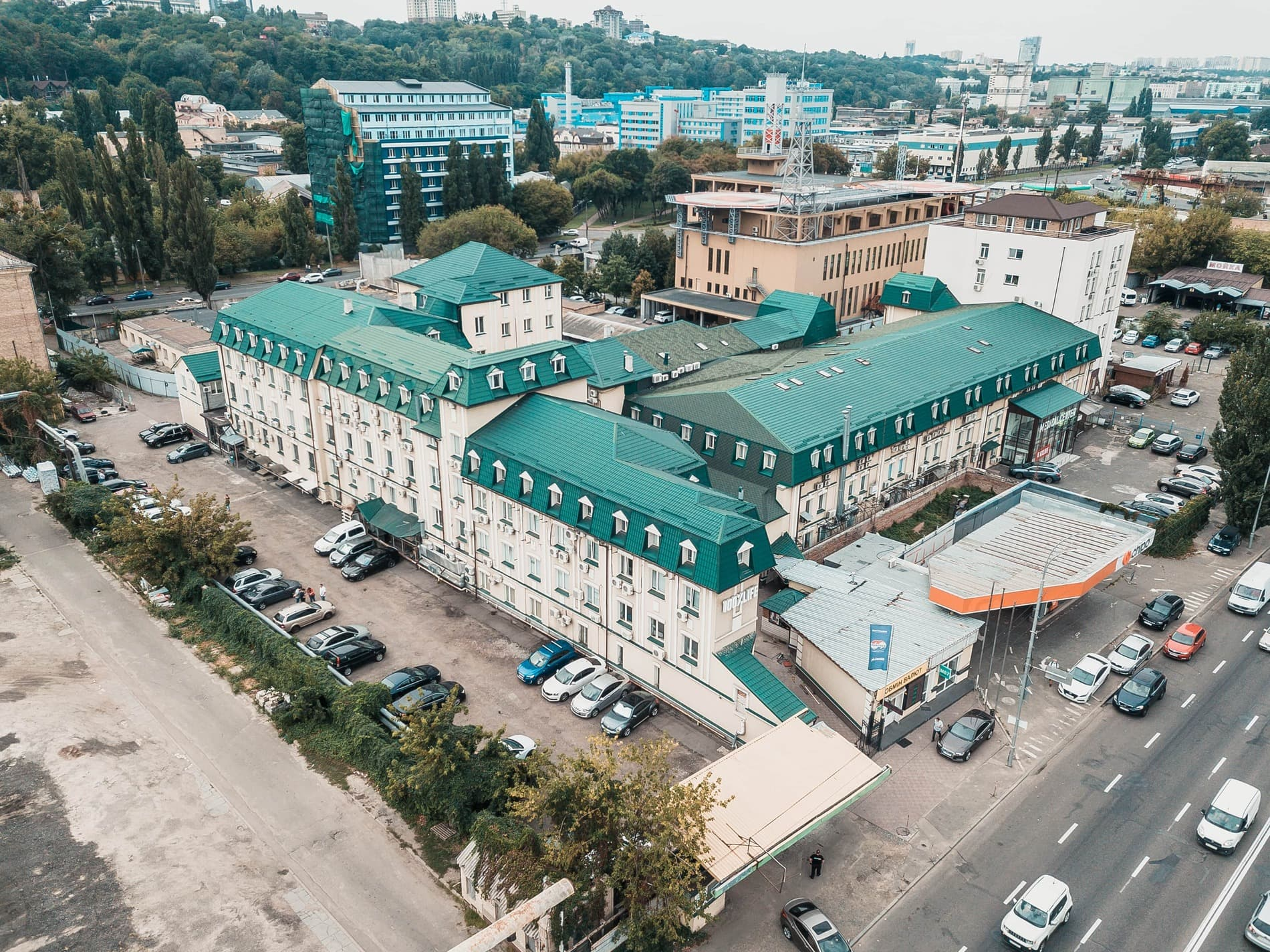 Бизнес-центр Межигорский Фото 2