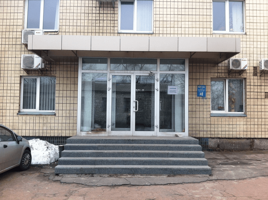 Office building avenue Vyzvolyteliv, 13