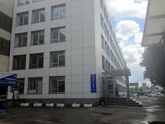 Business Center on Vozzyednannya Avenue, 19