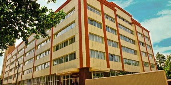 Office space on the street. Gaidar