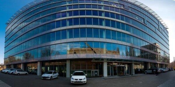 Business center Merx on the street. Leipzig, 15